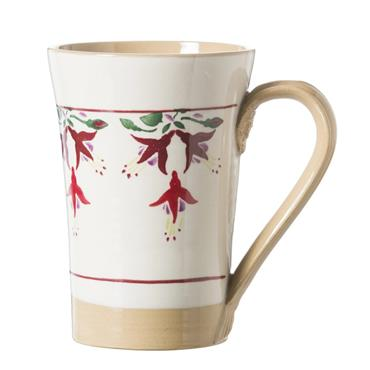 Tall Fuchsia Mug by Nicholas Mosse Pottery