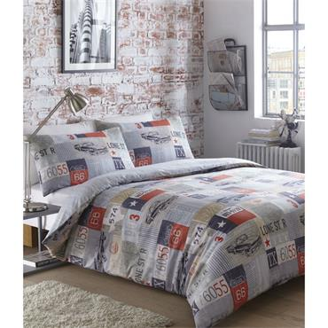 Eleanor James Road Trip Duvet Set - King Size
