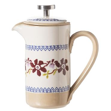 Small Nicholas Mosse Pottery Clematis Cafetiere