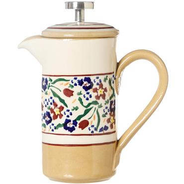 Small Nicholas Mosse Pottery Wild Flower Meadow Cafetiere