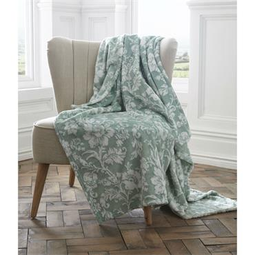Pascal Luxury Throw - Jade