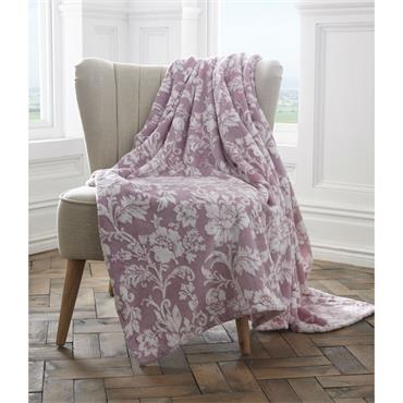 Pascal Luxury Throw - Lavender
