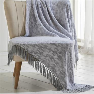 Ascot Throw - Grey