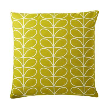 Orla Kiely Small Linear Stem Cushion - Sunflower