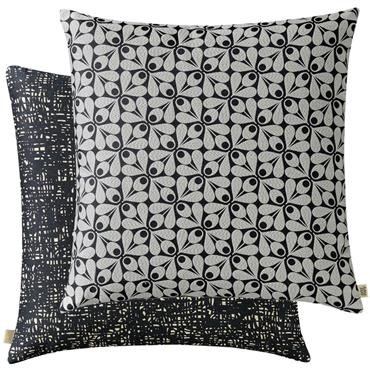 Orla Kiely Acorn Cup Cushion - Charcoal