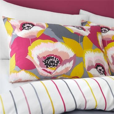 Catherine Lansfield Modernist Poppy Duvet Cover Set