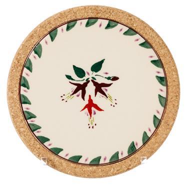 Trivet Round Fuchsia by Nicholas Mosse Pottery