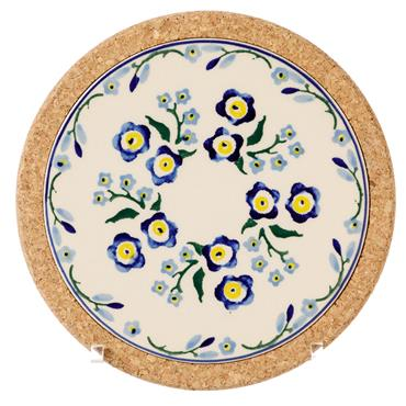 Trivet Round Forget Me Not by Nicholas Mosse Pottery