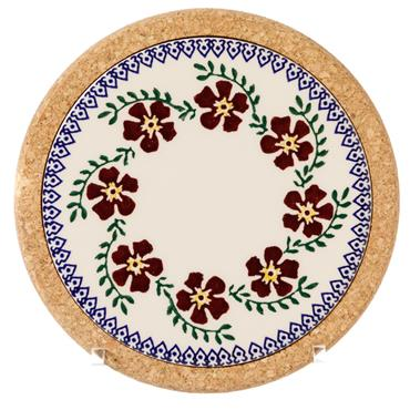 Trivet Round Old Rose by Nicholas Mosse Pottery