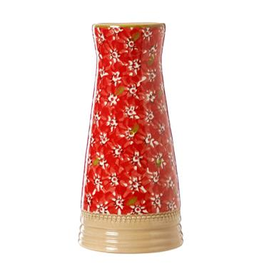 Small Tapered Vase Red Lawn