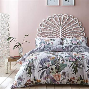 Accessorize Kensington 100% Cotton Reversible Duvet Cover Set