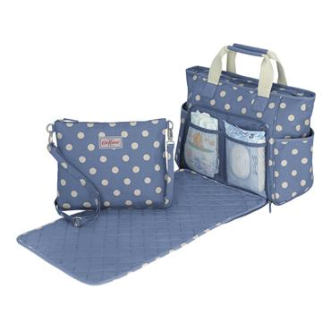 Cath Kidston Carry All Nappy Bag  - Button Spot