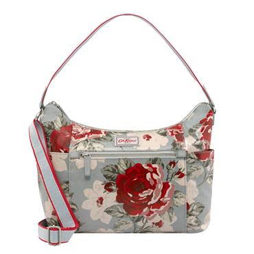 Cath Kidston Heywood Shoulder Bag - New Rose Bloom