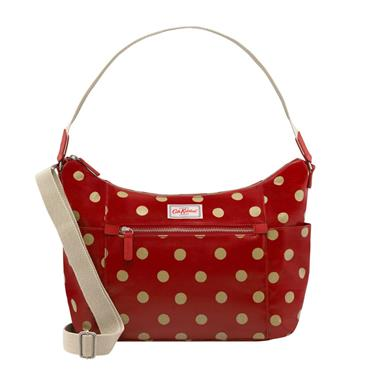 Cath Kidston Heywood Shoulder Bag - Button Spot