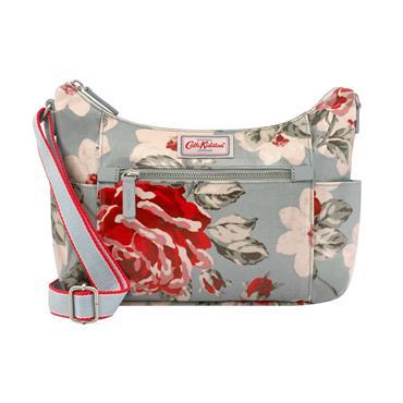Cath Kidston Heywood Cross Body Bag - New Rose Bloom