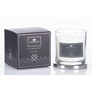 Fresh Linen Luxury Fragranced Candle by Newgrange Living
