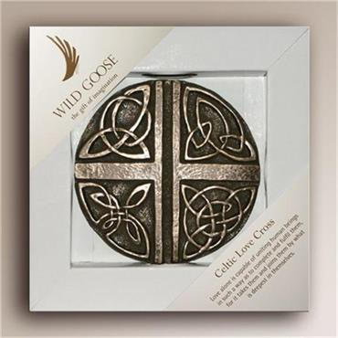 Wild Goose Celtic Love Cross