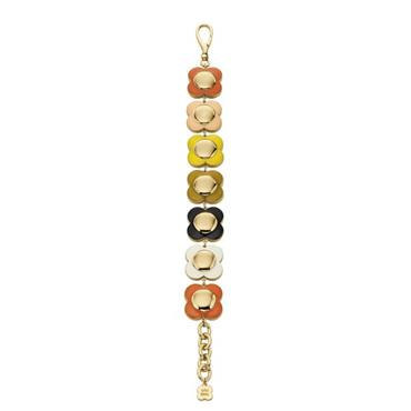 Orla Kiely Uptown Multi Coloured Flower Bracelet