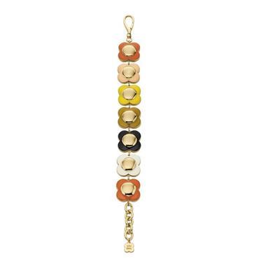 Orla Kiely Uptown Multi Coloured Flower Bracelet