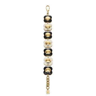 Orla Kiely Uptown Monochrome Flower Bracelet
