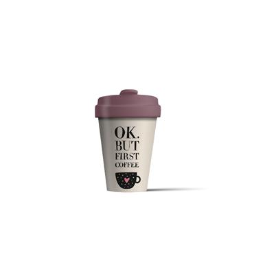 Chic mic Bamboo Cup - Coffee First
