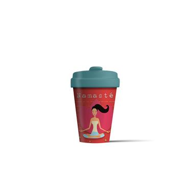 Chic mic Bamboo Cup - Yoga Love
