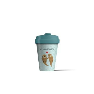 Chic mic Bamboo Cup - Otters
