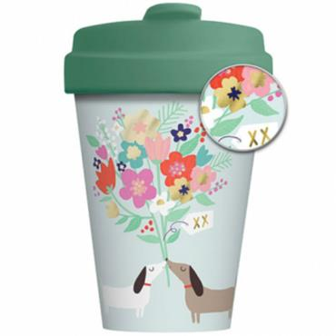 Chic mic Bamboo Cup - Lovely Doggies