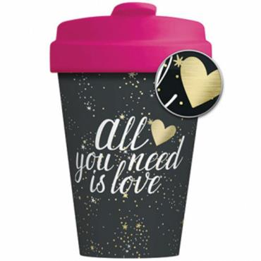 Chic mic Bamboo Cup - All You Need is Love
