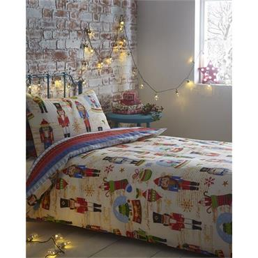 Nutcracker Duvet Set - Double