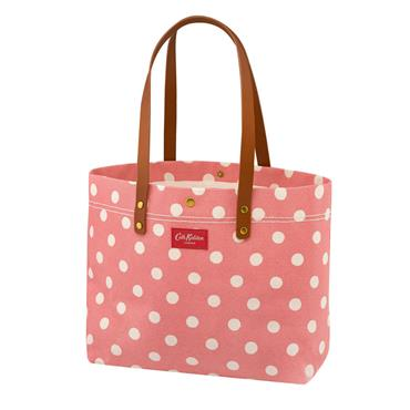 Button Spot Twill Premium Large Tote Bag