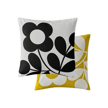 Stem Sprig Buttercup Cushion by Orla Kiely 45cm x 45cm