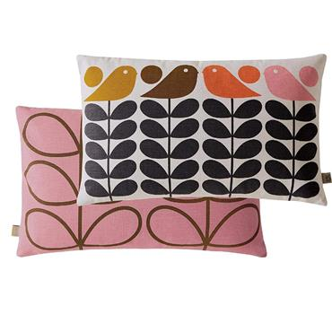 Early Bird Summer Cushion 30cm x 50cm by Orla Kiely
