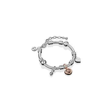 Newbridge Silver Silver Plated Charm Bracelet
