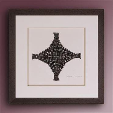 Wild Goose Woven Together - Brown Frame