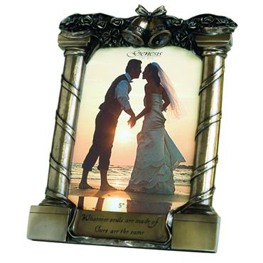 "Genesis Wedding Frame - 5""x7"""