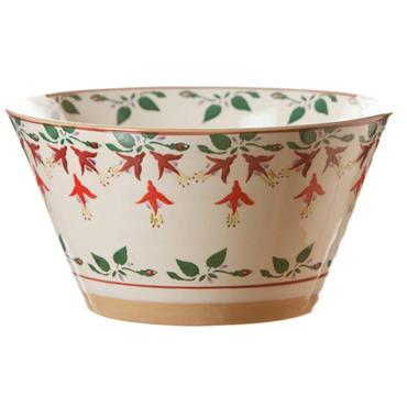 Large Angled Bowl - Fuchsia