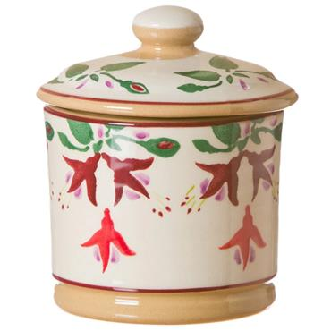 Lidded Sugar Bowl Fuchsia