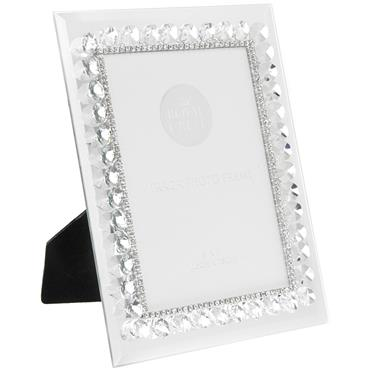 Mirror Diamante Frame 5 x 7""