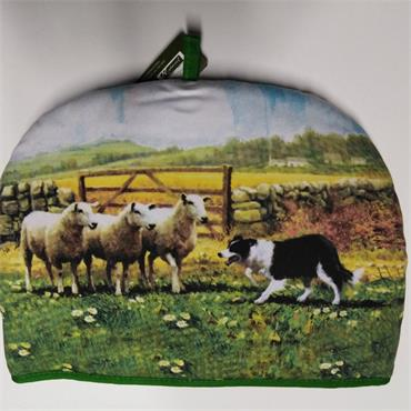 Collie & Sheep Tea Cosy