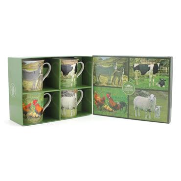 Farmyard Animal Mug Set
