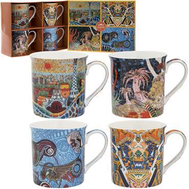 Antoni Gaudi Fine China Mug Set
