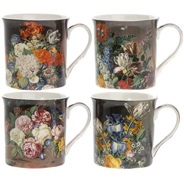 Flowers Mug Set