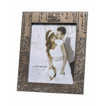 "Genesis Mr. & Mrs. Wedding Frame 8"" x 10"""