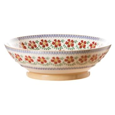 Nicholas Mosse Pottery Fruit Bowl - Old Rose