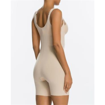 Open-Bust Mid-Thigh Bodysuit from Spanx