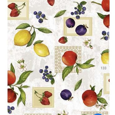 (E) Fruit Mix Oil Cloth