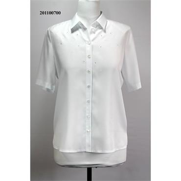 Erfo White Classic Blouse