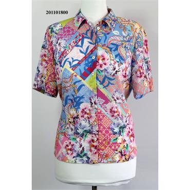Erfo Blouse in Floral Print