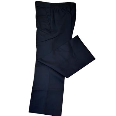 Hunter Sturdy Navy Elastic Waist Trouser